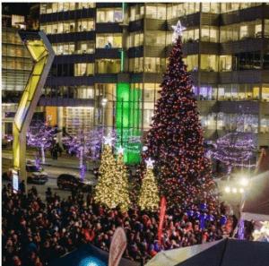 Christmas Tree Lighting.2019 Vancouver Christmas Tree Lighting Vancouver