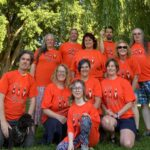 VICF staff in Orange Shirts
